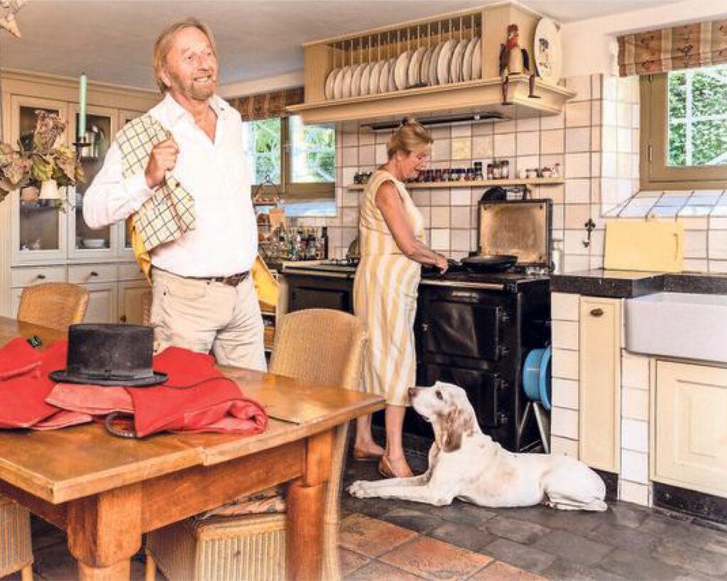 Friso en Yneke Woudstra in Telegraaf